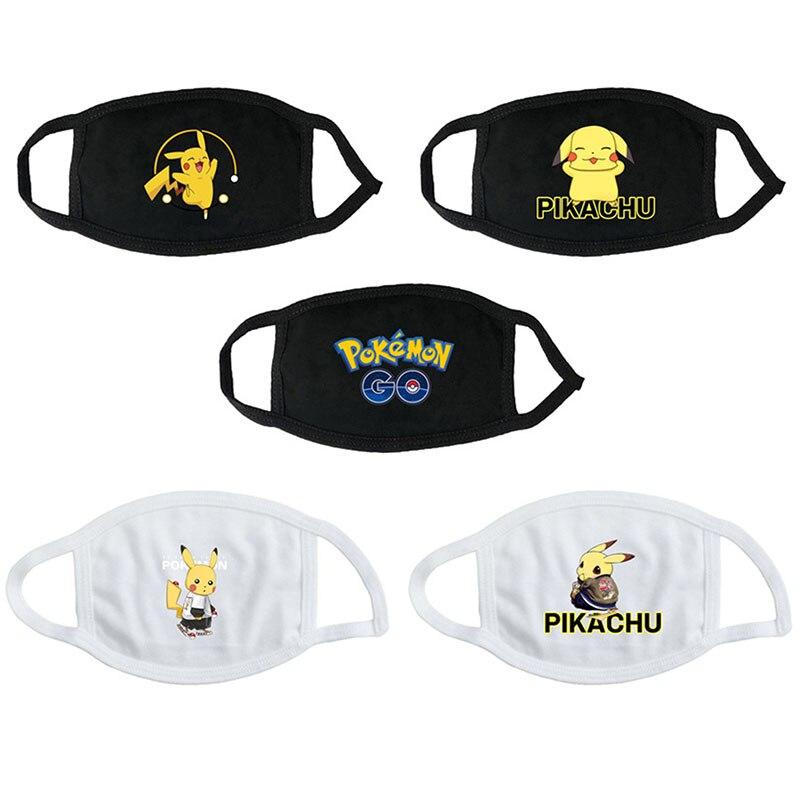 Pokemon Go Mask Cosplay Prop Pikachu Washable Dust-Proof Masks
