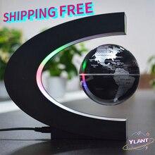 World Map Ball Lamp Lighting Office Home Decoration Terrestrial Globe novelty lamp 2020Floating Magnetic Levitation Globe Light