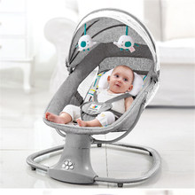 Chaise à bascule électrique pour bébé de 0 à 3 ans, berceau confortable pour nouveau-né