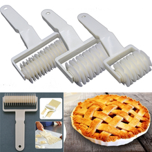 S/L Dough Roller Knife Pie Pizza Cookie Cutter Pastry Plastic Baking Tools Bakeware Embossing Dough Roller Lattice Cutter Craft сумка l craft l craft mp002xw1hxal