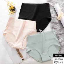M~2XL High Waist Underpants Plus Size Winter Briefs Antibacterial Womens Panties Lingerie Breathable Underwear Female Intimates