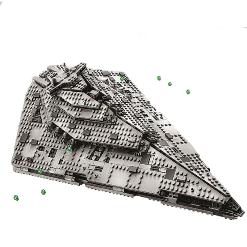 NEW Star Wars Wooker Gunship Compatible With Destroyer Block Set Building Brick Legoinglys Starwars Toys For Children