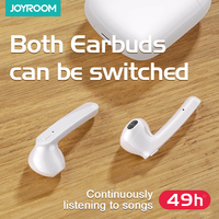Joyroom T04s Tws Earphone Wireless Bluetooth 5.0 Earphone Mini Earbuds With Mic Charging Box Sport Bass Sound For Xiaomi Samsung