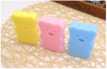 500 sztuk Baby Shower kran mycia szczotki do kąpieli ręcznik akcesoria dziecko szczotka szczotki do kąpieli gąbki pocierać bawełna tarcie ciała tanie i dobre opinie gąbka lodpsdw32 0-3 M 4-6 M 7-9 M 10-12 M 13-18 M 19-24 M 2-3Y 4-6y 7-9Y 10-12Y 13-14Y Typ ramki Stałe Baby Bath Sponge
