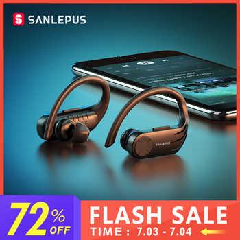 SANLEPUS B1 pantalla Led auricular Bluetooth inalámbrico auriculares TWS estéreo auriculares de cancelación del ruido auriculares con micrófono
