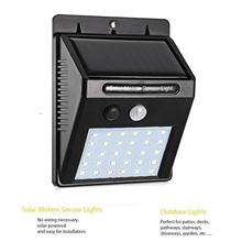 30LED Solar Panel Powered LED Light Infrared PIR Motion Sensor Lamp Night Light Garden Decor Wall Lamp Energy Saving street wall цены