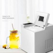 15 кг/24 ч портативная Автоматическая Мороженица Бытовая пуля круглая машина для изготовления льда