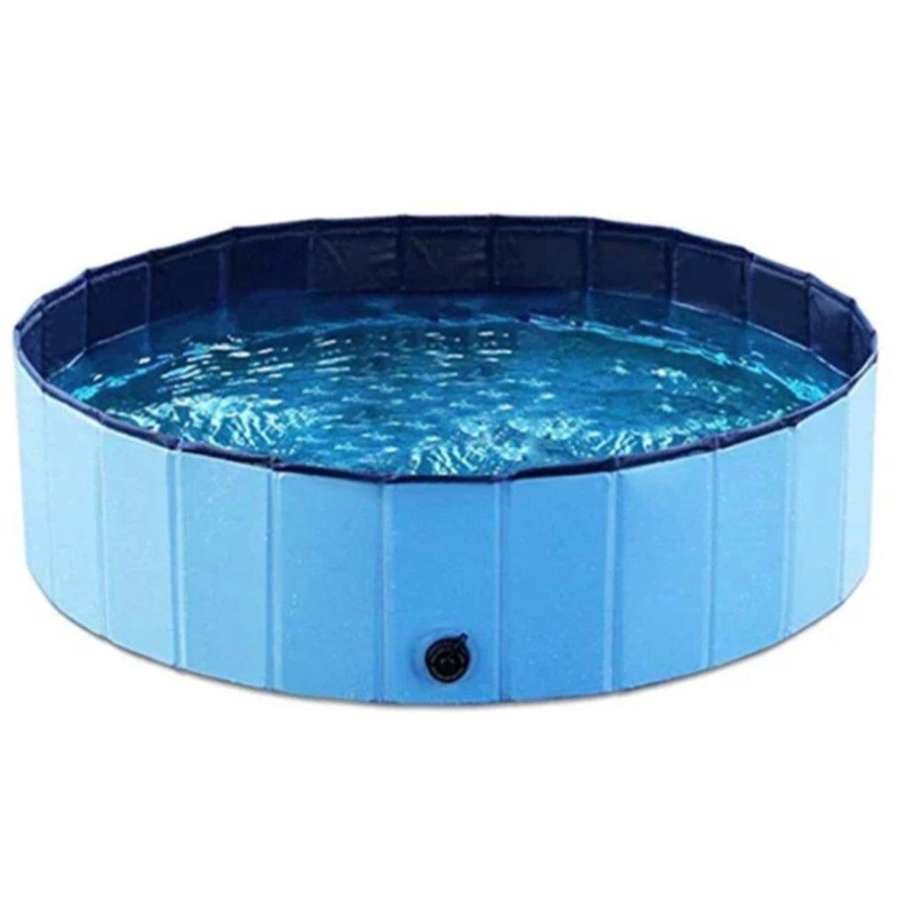 Portable Paw Pool  Summer Dog Swimming Pool Foldable Pet Bath Pool Portable Dog Cleaner Bathtub Bathing Tub Pool