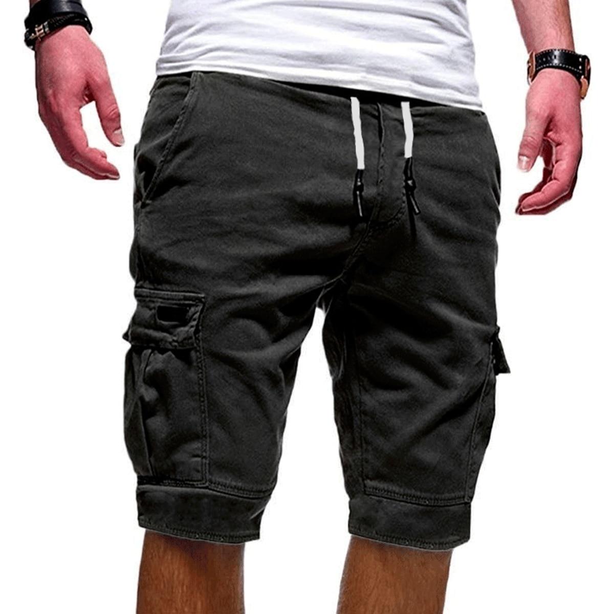 Hot-Selling Men Shorts Fitness Casual Workout Brand Pants Quality Shorts Men's Multi-pocket Sports Shorts