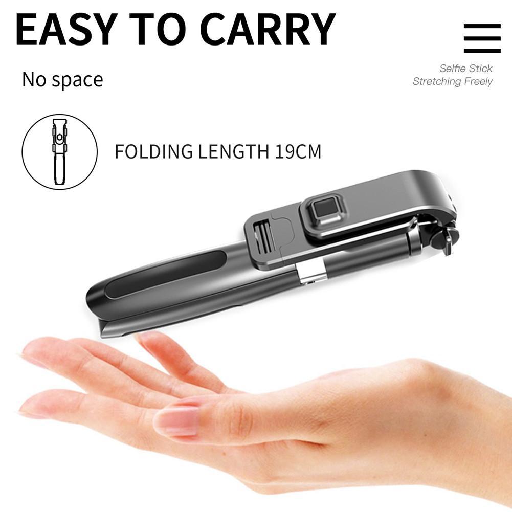 Bluetooth mudah alih baru 5.0 selfie stick alat kawalan jauh tripod - Kamera dan foto - Foto 4