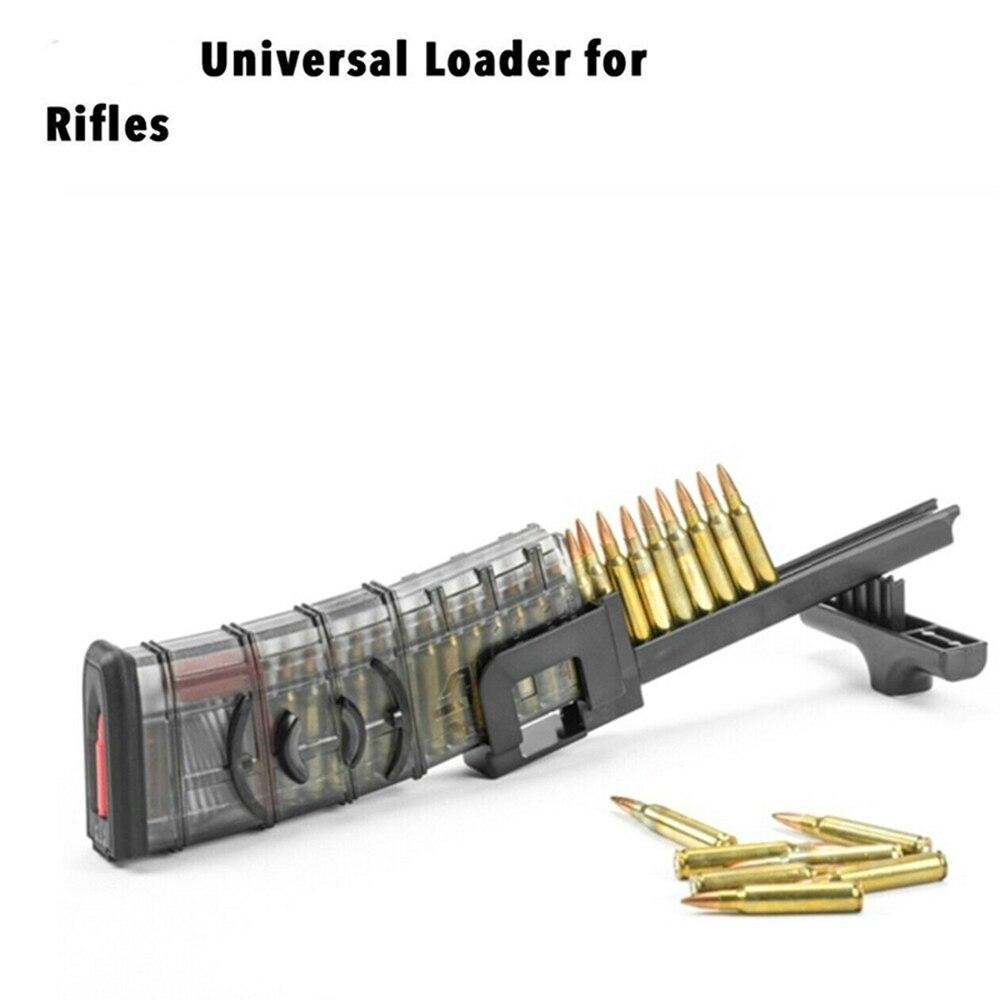 Универсальный скоростной погрузчик, тактический военный инструмент для быстрой загрузки, журнал для винтовки для охоты 223 556 308 762x39