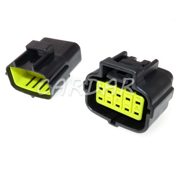 1 Set 10 Pin 174655-2/174656-7 174657-2 Econoseal J Series Plug Electrical Socket Waterproof Auto Connector image