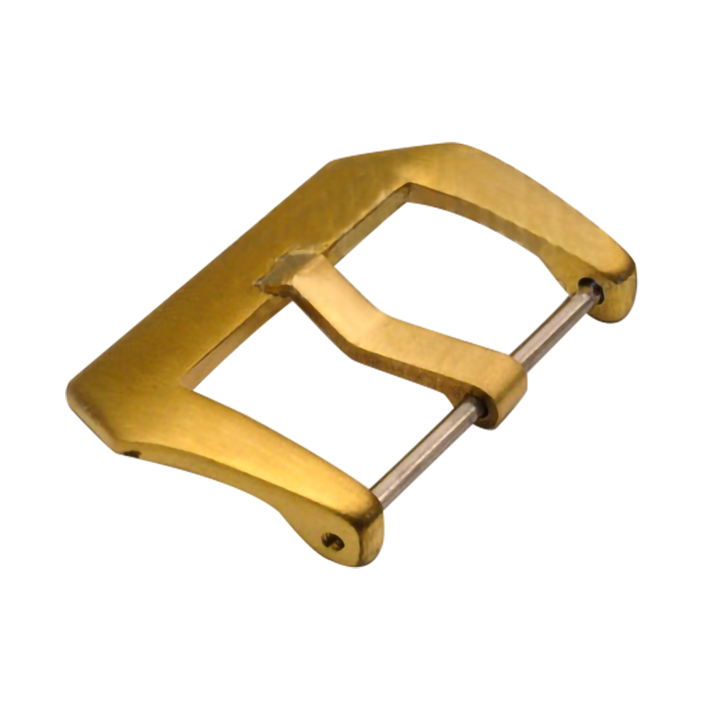 100% Bronze Brass Made Screws / Pin Clasp 18mm 20mm 22mm 24mm 26mm  Buckle For Panerai Replace Watches Accessories