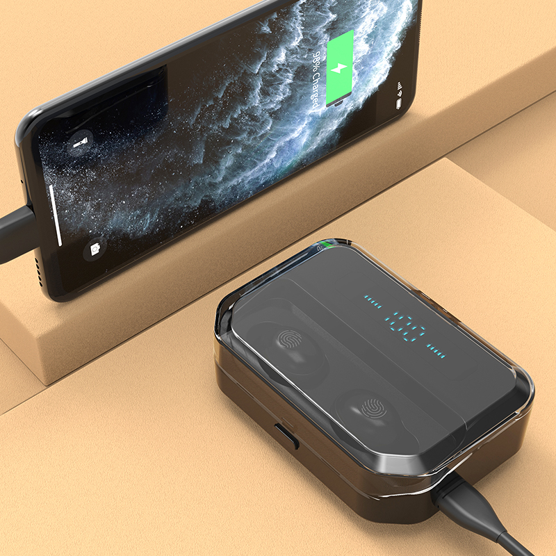 cheapest B9 TWS Bluetooth Earphones Wireless Earphone 8D HIFI Sport With MIC Earbuds Gaming Music Headset For Xiaomi Huawei Iphone