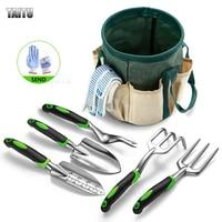 TAITU Garten Werkzeug Set Hand Kelle Bonsai Schaufel Rake Grubber Cast Aluminium Outdoor Gartenarbeit Rasen Transplantation Werkzeuge Kit