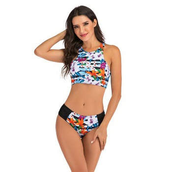 Sexy Bikinis Plus size Swimwear Women Mirco bikini 2020 mujer Two Piece Swimsuit swimming suit Beach Sport Swimsuit Set May