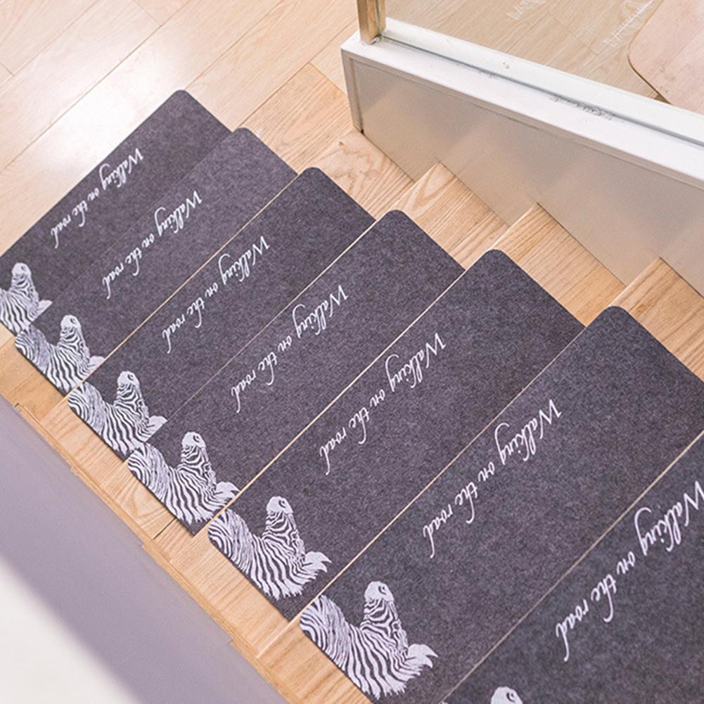 tapis de marches d escalier antiderapant en bois auto adhesif pour maison bureau g4t0