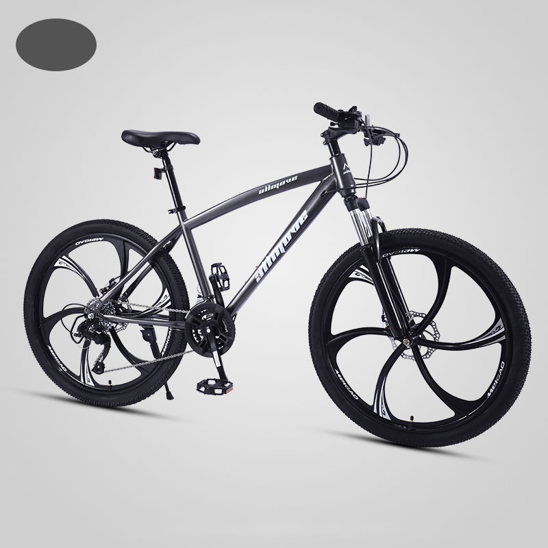 Mountain Bike 26 Inch 21/24/27/30 Speed Variable Speed Shock Double Disc Brake Student Adult Bicycle