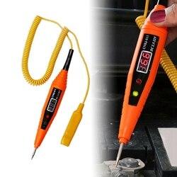 1Pc samochód ołówek Tester narzędzie do naprawy obwodu próbnik samochodowy cyfrowy wyświetlacz ołówek Test lampa Test pojazdu ołówek może być używany bezpiecznie