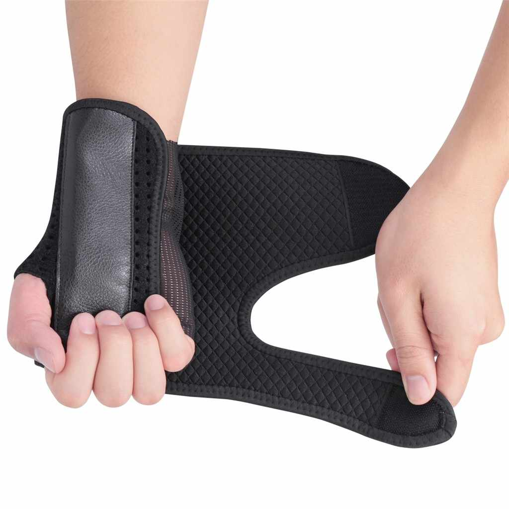 Soporte extraíble para pulgar y muñeca soporte de acero muñequera ajustable Protector deportivo protección de baloncesto Fitness accesorios deportivos