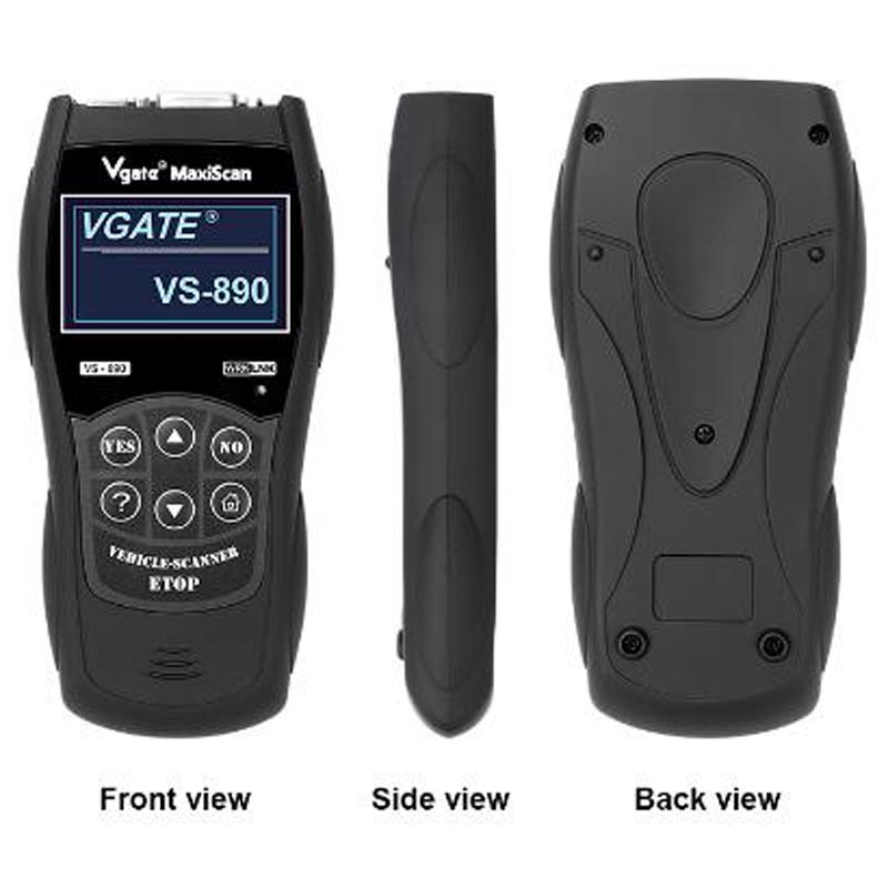 Profssional OBD2 EOBD Diagnostic Tool VS890 Maxi Scan OBD SCAN Multi-Language VS 890 Car Code Reader With ELM327 Wifi