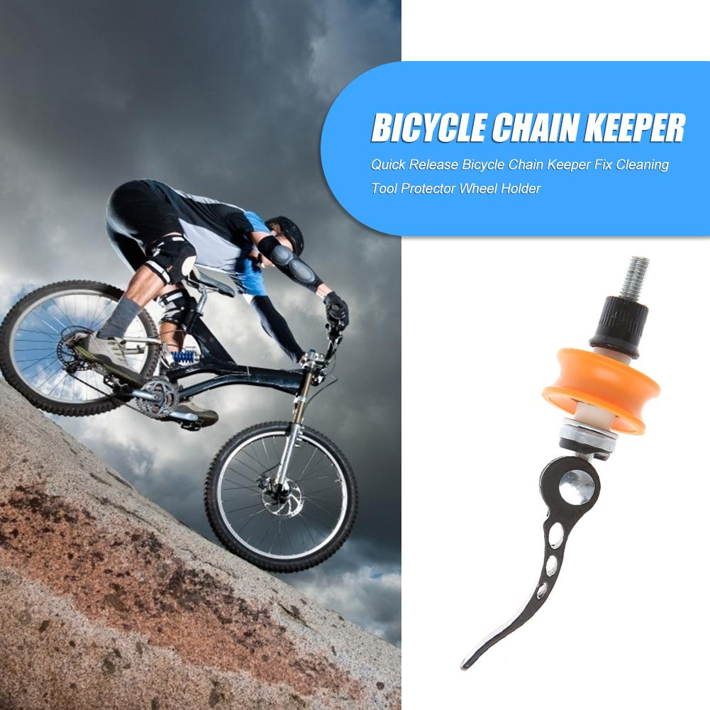 Chain keeper Dummy hub Protects frame Cycling Bicycle Holder Practical