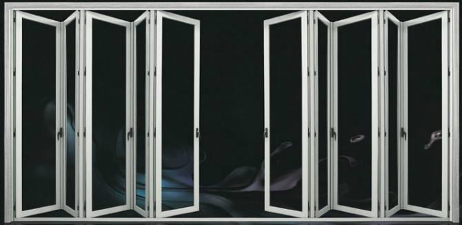 Hench China Wooden Aluminum Doors Windows  Bi-folding Doors Wholesale Factory Hc-a12