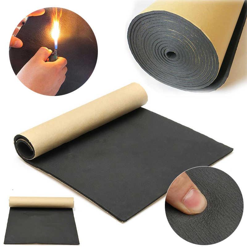 tapis d isolation thermique auto adhesif pour voiture 50x300cm insonorisation tapis de sol pour automobile accessoire