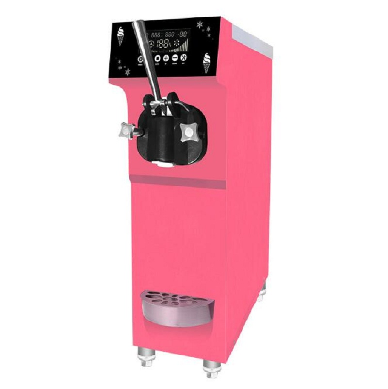 220/110 V  50/60 HZ Soft Ice Cream Maker/making Machine With One Flavor 12 L/H Capacity With Free Shipping