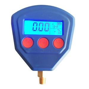 Image 2 - SP R22 R410 R407C R404A R134A вакуумное медицинское оборудование для кондиционирования воздуха на батарейках цифровой манометр