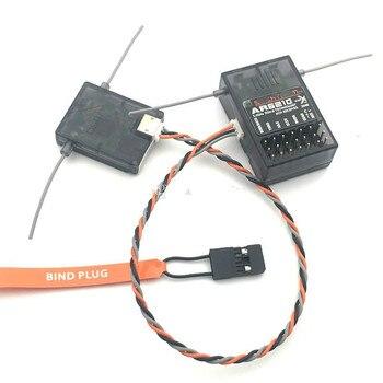 2 zestawy 6-kanałowy odbiornik AR6210 do nadajnika Spek DSM2 DSMX JR RC