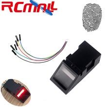 RCmall оптический считыватель отпечатков пальцев сенсор модуль для Arduino Mega2560 UNO R3 51 AVR STM32 красный светильник O40 DC 3,8-7 в FZ2904