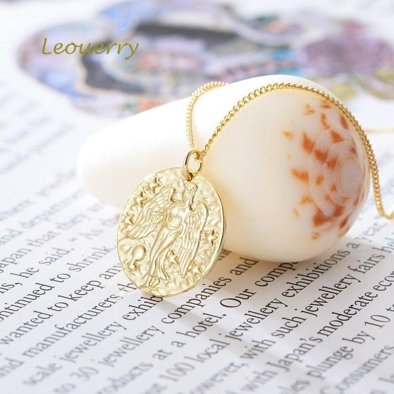 Купить leouerry ожерелье из стерлингового серебра 925 пробы с кулоном