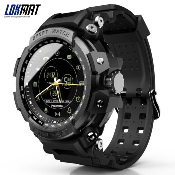 LOKMAT SmartWatch Sport Pedometer Bluetooth 50M Waterproof  Information Reminder Digital Men Smart Watch For Ios And Android 1