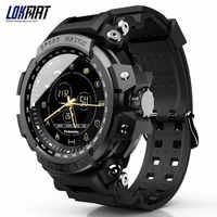LOKMAT SmartWatch Sport Schrittzähler Bluetooth 50M Wasserdichte Informationen Erinnerung Digitalen Männer Smart Uhr Für Ios Und Android