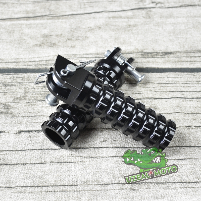 Ranger Tianjun V Coffee Retro Vintage Motorcycle Motorcycle Modification Bright Black Plaid Front Of The Foot Pedal Before