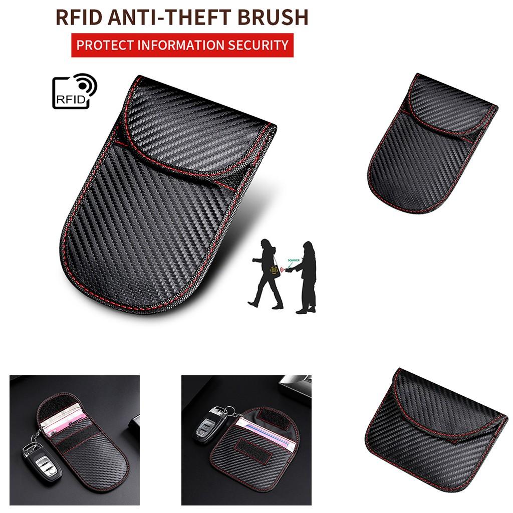 2019 Horizontal And Vertical Version Of The RFID Key Package Security Key Set Car Key Holder Wallet Case Best Sell Dropshipping