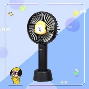 Summer Fan Foldable Handheld Mini Fan Cooler 3 Speed Adjustable Cooling Fan For Outdoor USB charge