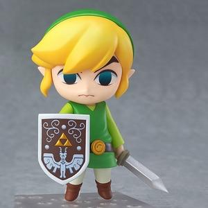 -413 Figures Link Model-Doll-Collection Figma Waker Action Zelda Majoras Anime Version-Toys