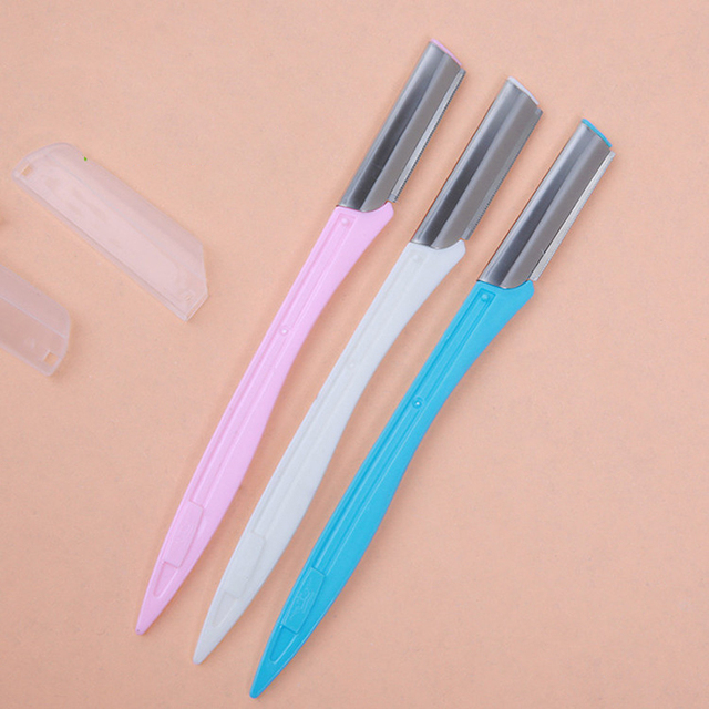 3Pcs/set Portable Eyebrow Trimmer Hair Remover Set Women Face Epilator Eyebrow Trimmers Shaver For Makeup Beauty Cosmetic Kit