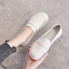 2020 Spring Summer Women Shoes Soft Bottom Genuine Leather L