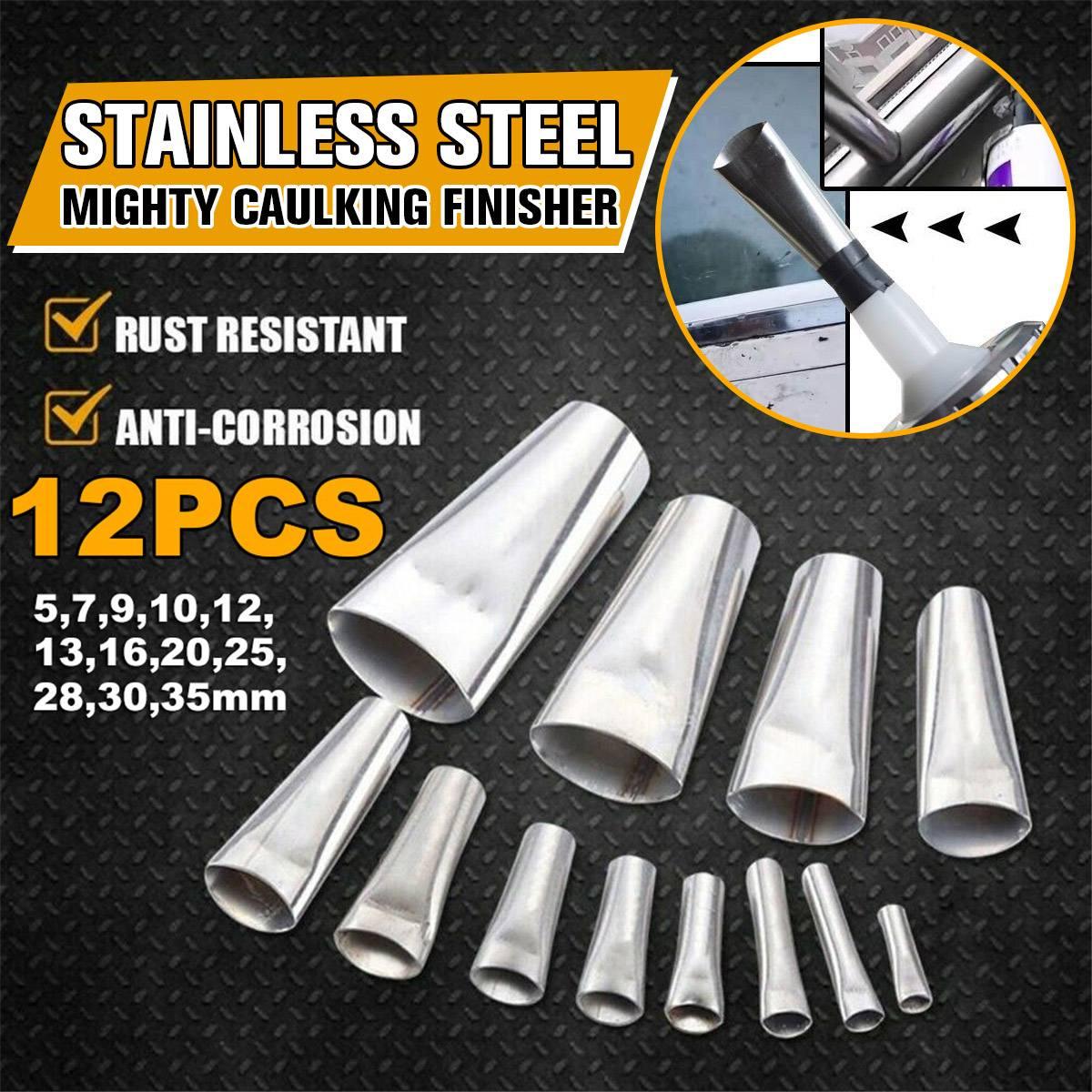 Caulking Finisher Silicone Sealant Nozzle Glue Remover Scraper Caulking Nozzle Waterproof Glass Wall Repair AP5