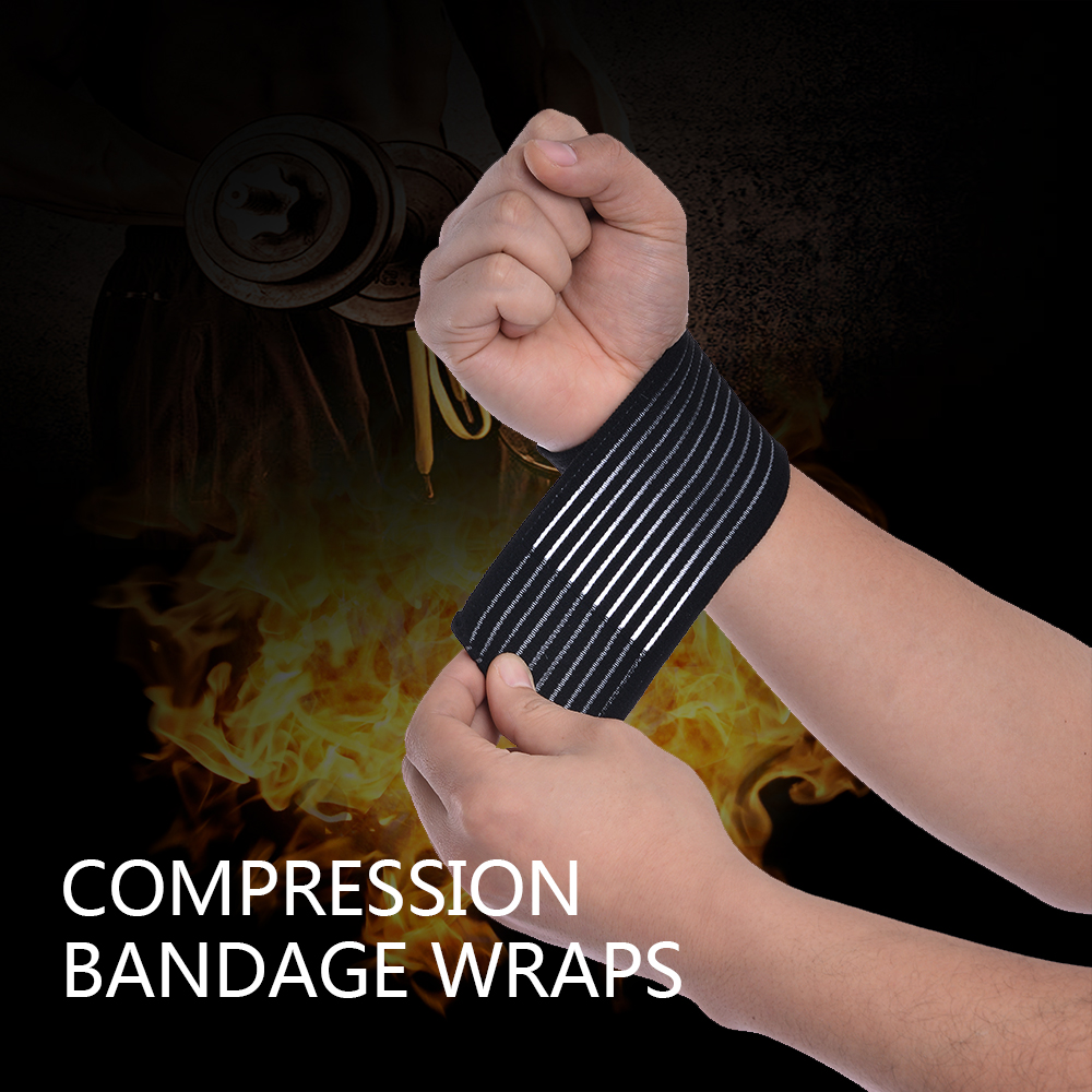 Self Adhesive Elastic Bandage Foot Ankle Support Bandage Volleyball Basketball Ankle Wrist Orotection Adjustable Elastic Bands
