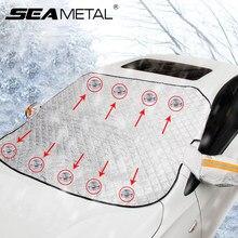 Auto Schnee Abdeckung Auto Abdeckung Windschutzscheibe Sonnenschirm Im Freien Wasserdichte Anti Eis Frost Auto Protector Winter Autos Außen Abdeckung