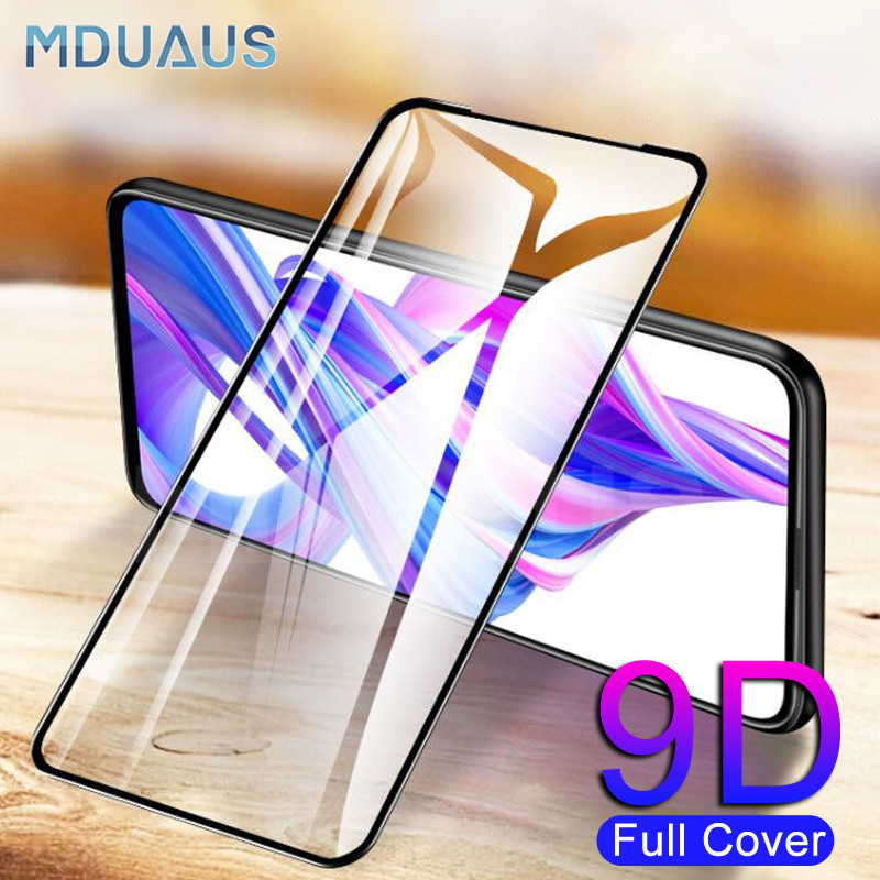 9D Protective Glass On The For Huawei Honor 20 Lite 9X 8X 8A 8C 8S V20 V10 9i 10i 20i 20S Tempered Screen Protector Safety Glass