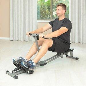 Mute rowing machine home fitne