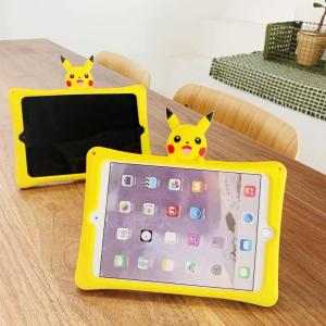 For iPad 9.7 5th 6th 10.2 7th Pro 9.7 10.5 11 case Lovely 3D Cartoon Silicon PC stand cover For iPad Air 1 2 3 Tablet Kids Funda(China)