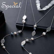 The SPECIAL New Fashion euramerican lace leaf necklace collarbone neck chain choker wool chain sweater chain for women S1819N стоимость