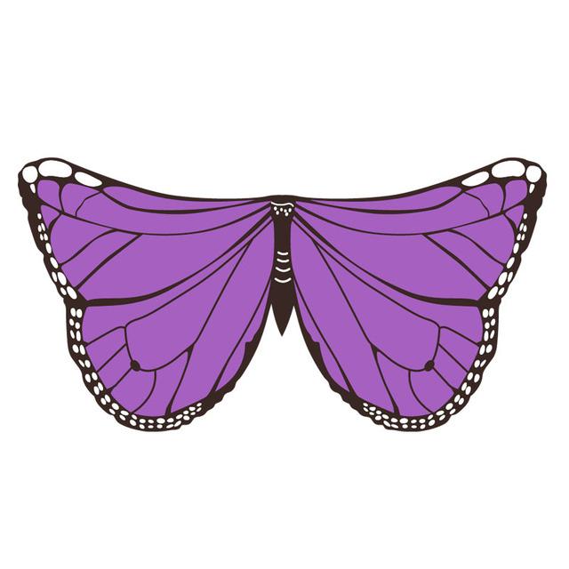 Alas de mariposa pájaro dragón disfraz rojo púrpura azul fiesta regalo Halloween Navidad vestido de Pascua respetuoso con el medio ambiente