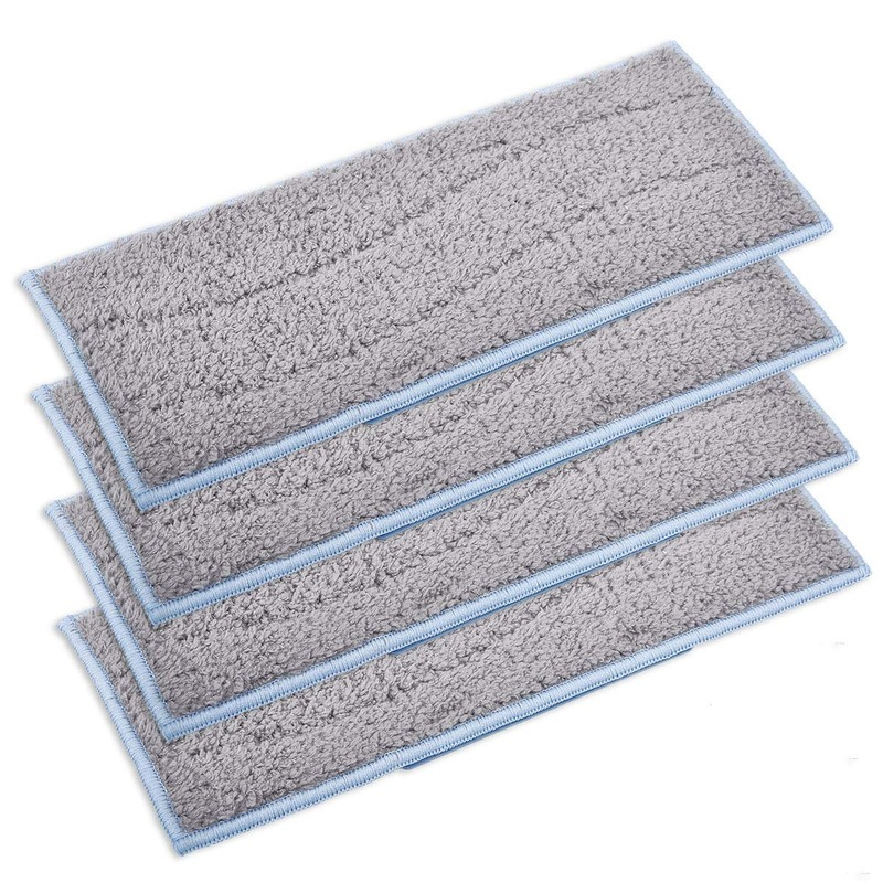 Washable Wet Replacement Pads For IRobot Braava Jet M6, 4 Pack